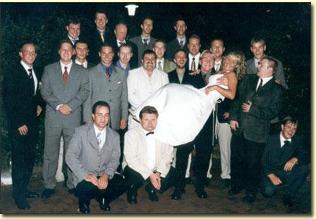 Schlips-und-Kragen-Mannschaftsfoto
